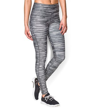 White Printed HeatGear® Armour Tights