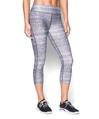 Black & White Abstract HeatGear® Capri Leggings