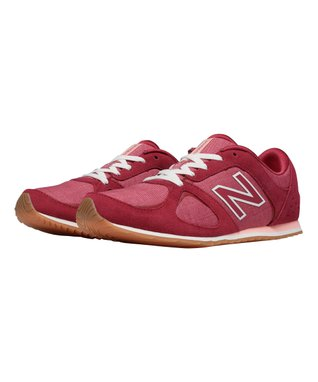 Heather Red 555 Total Lifestyle Suede Sneaker