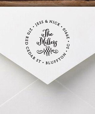 Miller Personalized Self-Inking Stamp