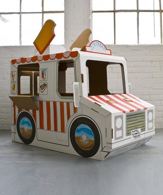 Cardboard Imagine Ice Cream Truck