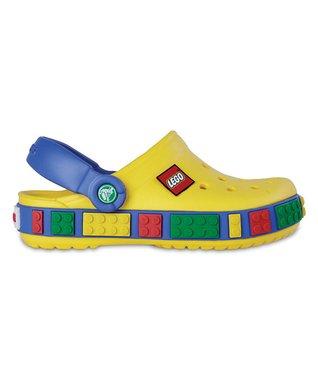 Yellow & Sea Blue LEGO® Clog
