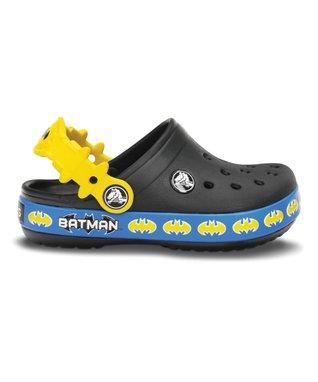Black Crocband Batman Clog