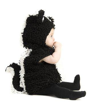 Black & White Stinky Skunk Dress-Up Set - Infant & Toddler