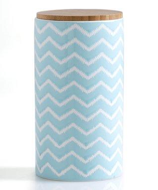Large Blue Morocco Jar