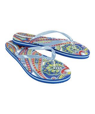 Marina Paisley Flip-Flop