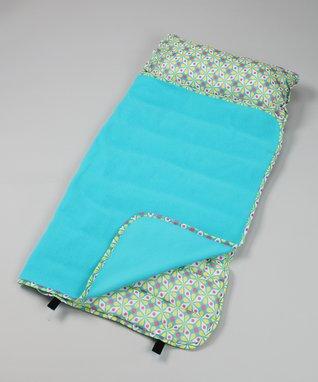 Spring Kaleidoscope Easy-Clean Nap Mat