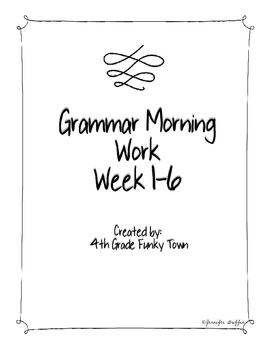 4th Grade Funky Town: 4th Grade Funky Town's Schedule