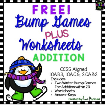 FREE Bump Games - Addition