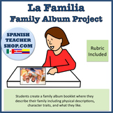 Family Familia Album / Book Project  W/ RUBRIC
