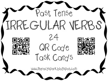Grasty's 2nd Grade Goodies: Irregular Verbs