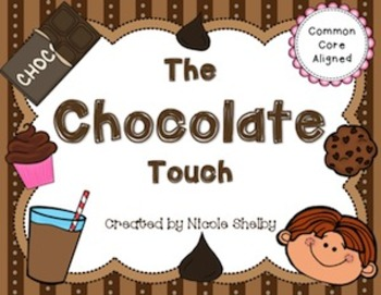 The Chocolate Touch Book Activities and Lapbook Templates