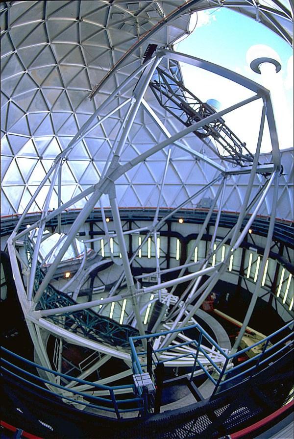 Hobby-eberly Telescope Interior Mcdonald Observatory
