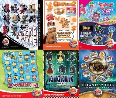 mcdonalds toys burger king