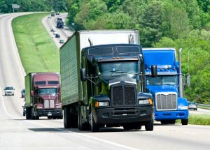 big truck crashes