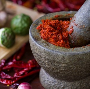 Spices+Oriental cooking