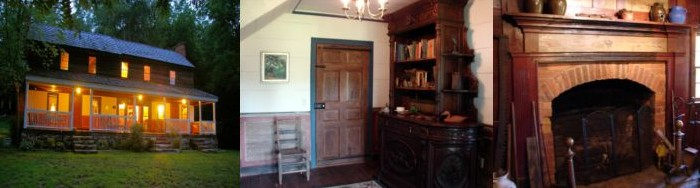 The Ledbetter House, built in 1826, bosts exceptionally intact interior features.