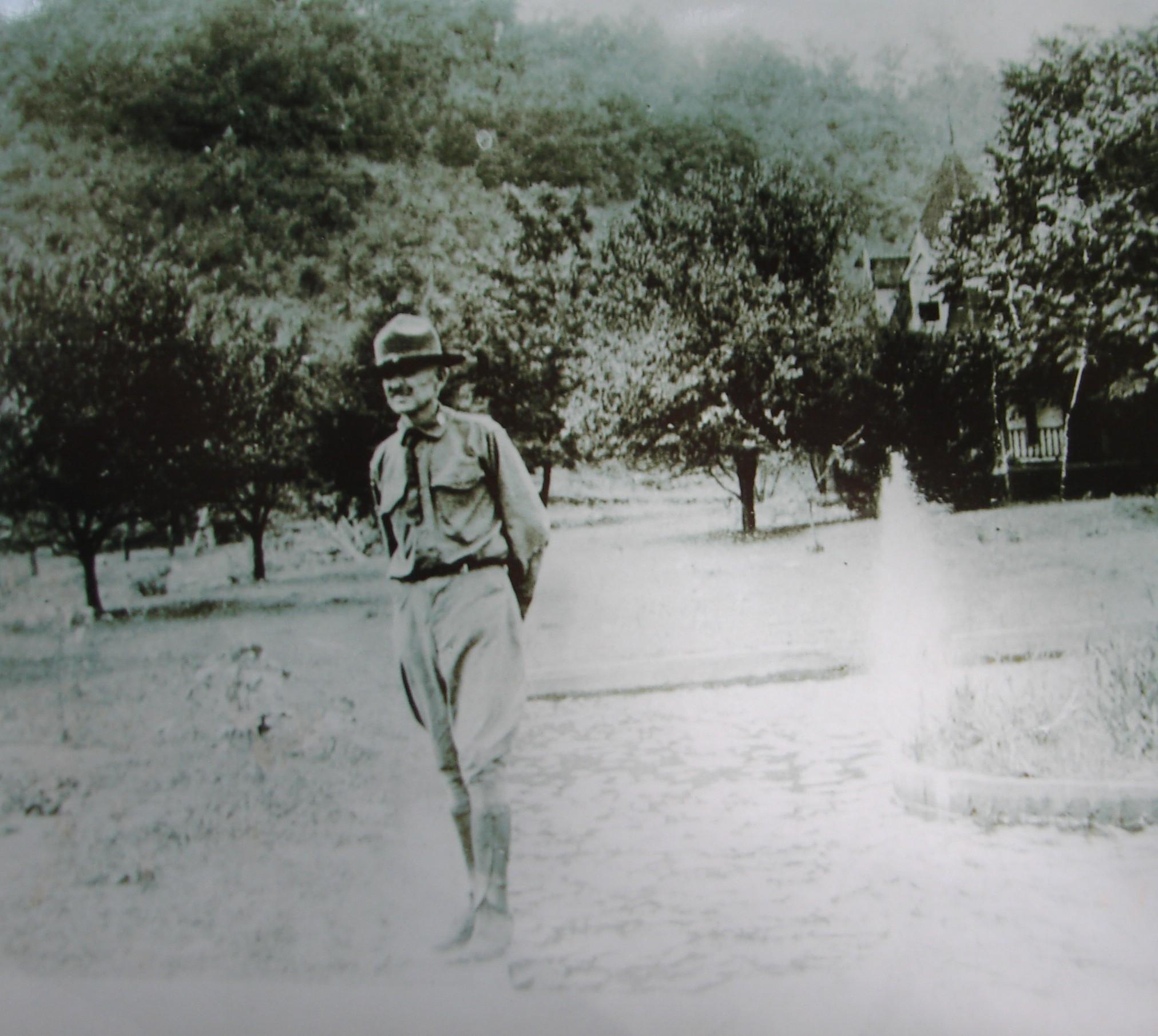 Colonel Adams (Photo courtesy of Bill Nichols, John's Market Collection)