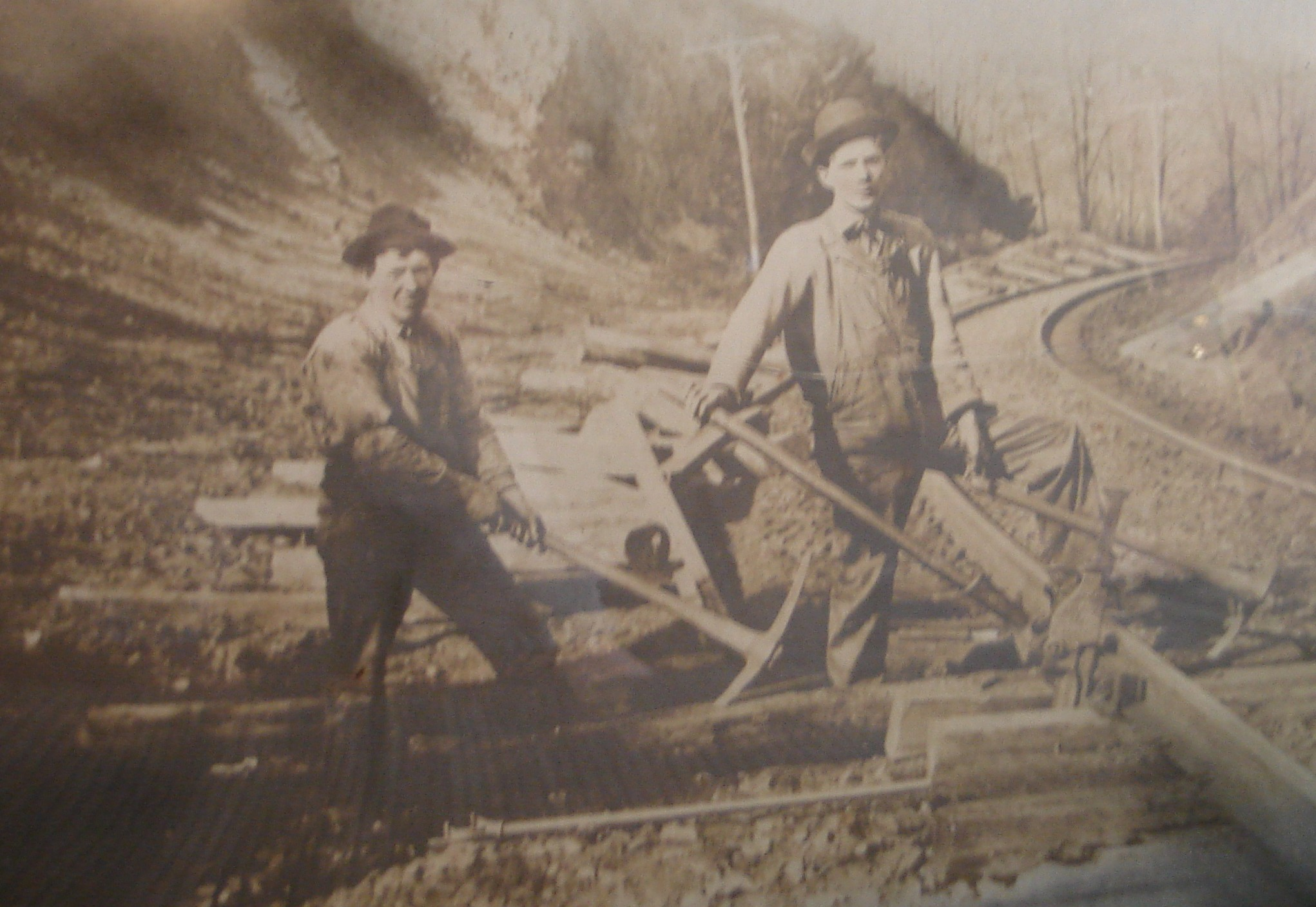 The men in Mildred Kelly's family worked with the railroad for generations.