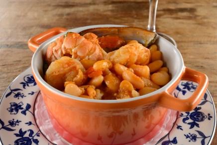 Chiado Chef Arnaldo Eloi Frutos do Mar com feijao branco