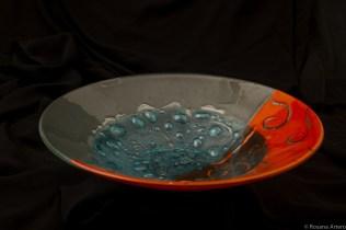 Bazar da Cidade - CRIS RAMADAN, objetos em vidro [foto Rosana Artero]