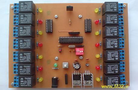 ریموت کنترلر 14 کاناله با کنترل تلویزیون