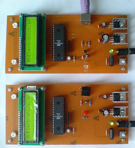 فرستنده و گیرنده RC5 با  IR