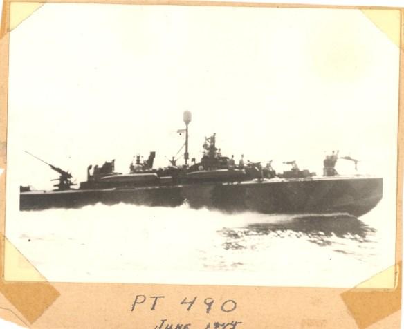 PT Boat 490 Photo Courtesy: McElfresh Map Company LLC