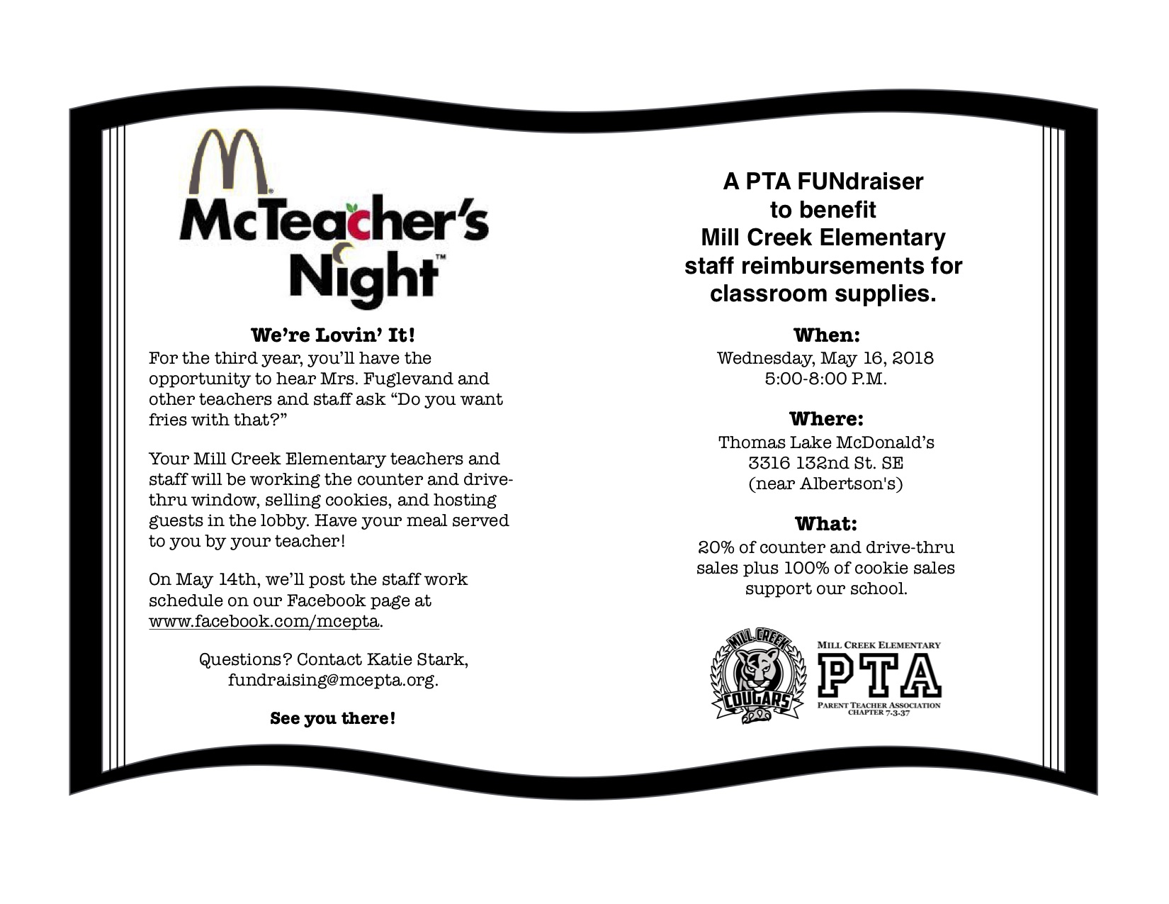 Dine Out for PTA