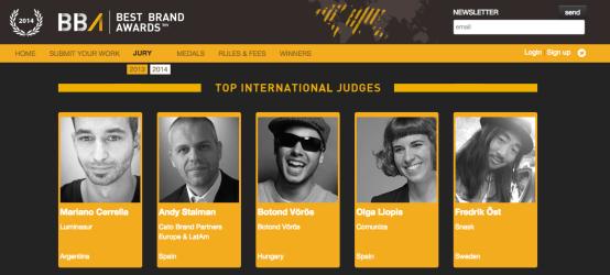 BBA, Coco Cerrella international Jury