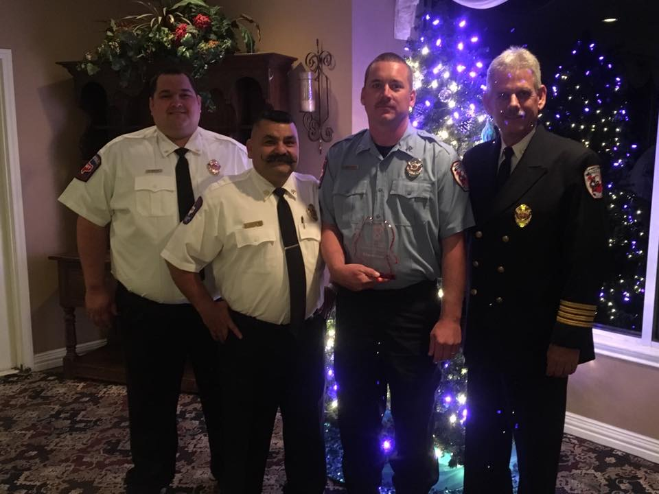christmas banquet (bryant matthews probationary firefighter of the year)