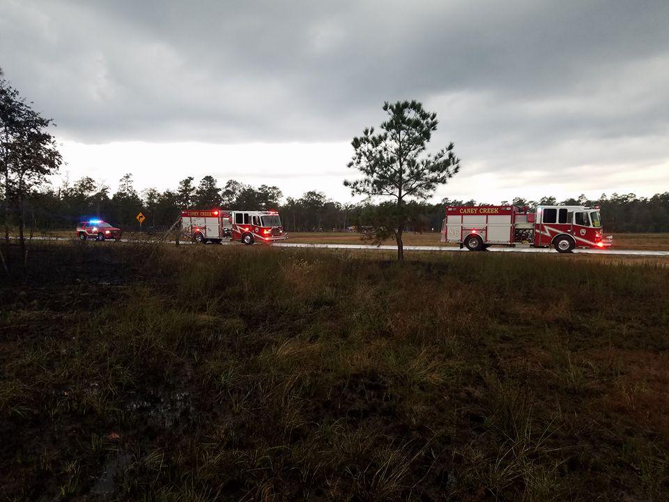 mcesd9 grass fire E-81 & E-86