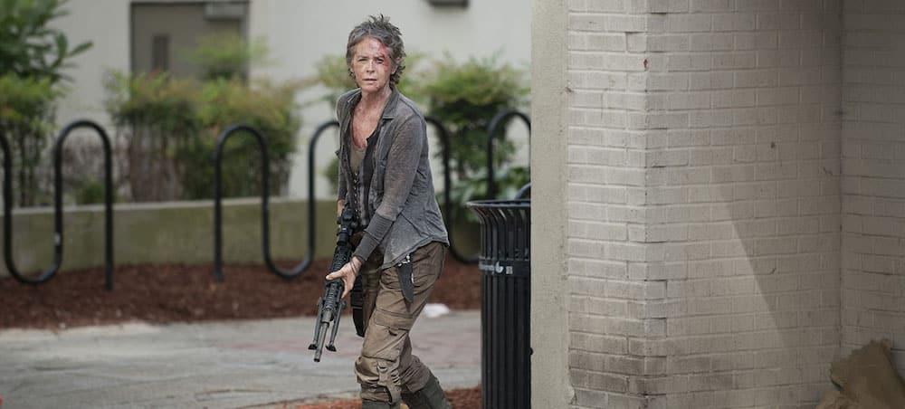 The Walking Dead: Carol présente dans la suite de la saison 7 !