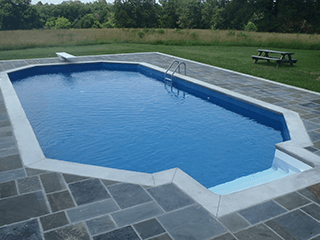 InGround Pool Shapes  McEwen Industries