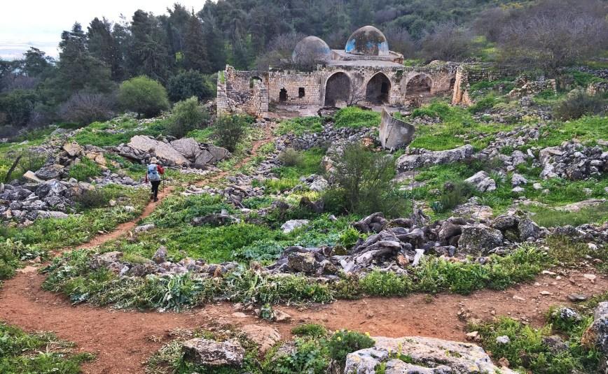 The walk to Galilee.