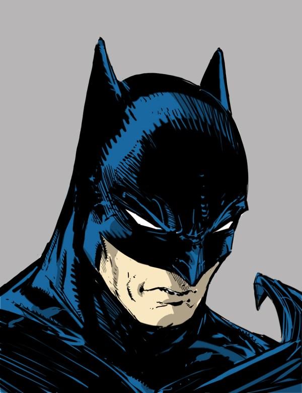 Todd McFarlane Batman Drawings