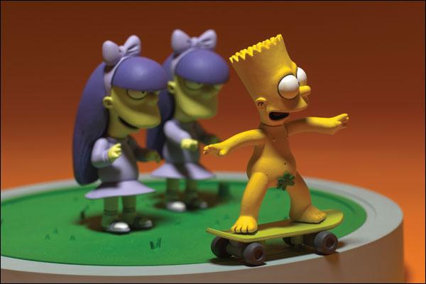 Bart Sherri  Terri Doodle Double Dare