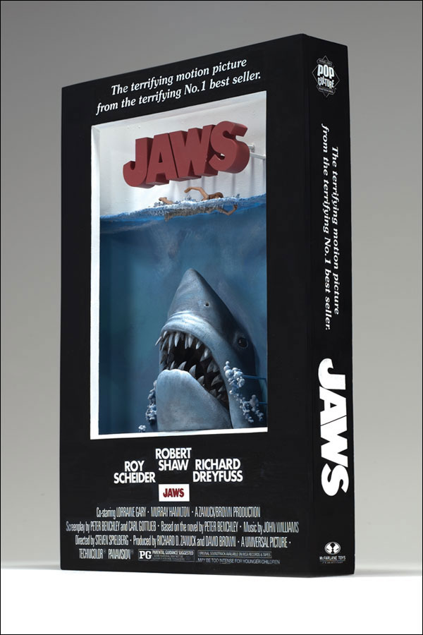 3D Movie Poster Jaws