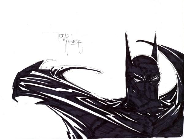 Todd McFarlane Sketch