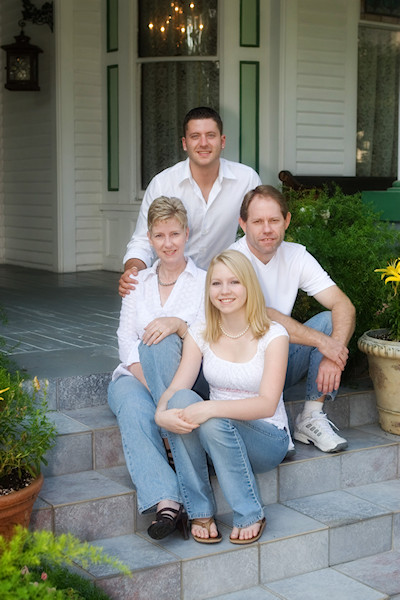 The Fauble Family - Mcfarlin House Bed and Breakfast