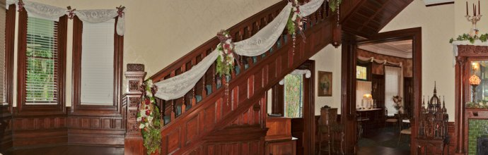 McFarlin House Bed and Breakfast in Quincy, FL - Staircase #3