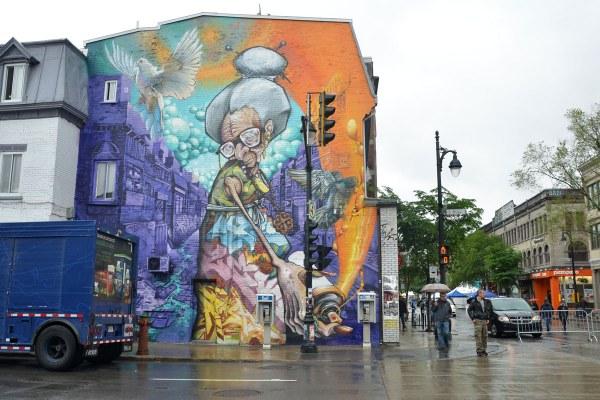 Painting Murals On Buildings