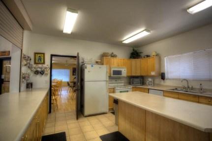 Club house kitchen