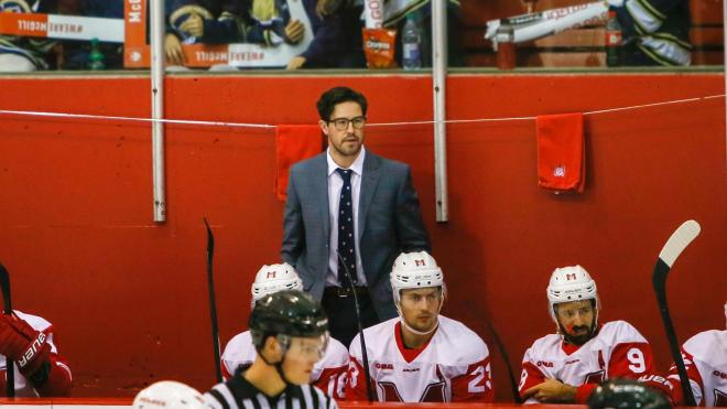 Heelis appointed interim head hockey coach at McGill - McGill ...