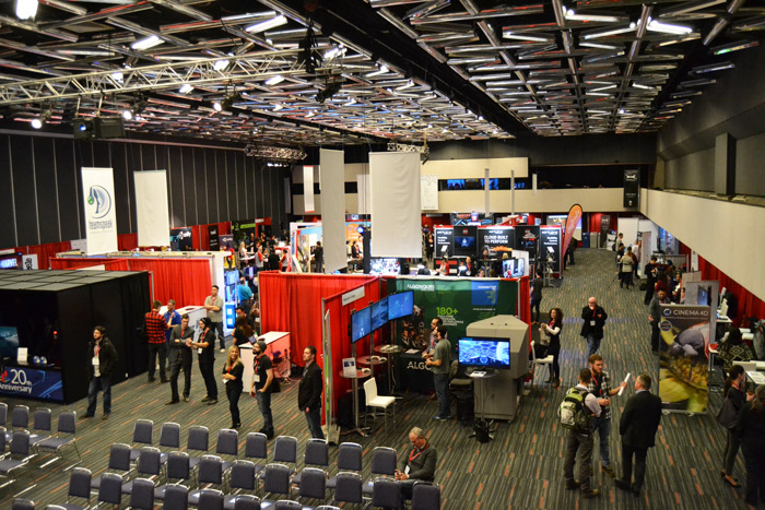 MIGS is the largest gaming conference on the East Coast. (Emma Hameau / McGill Tribune)