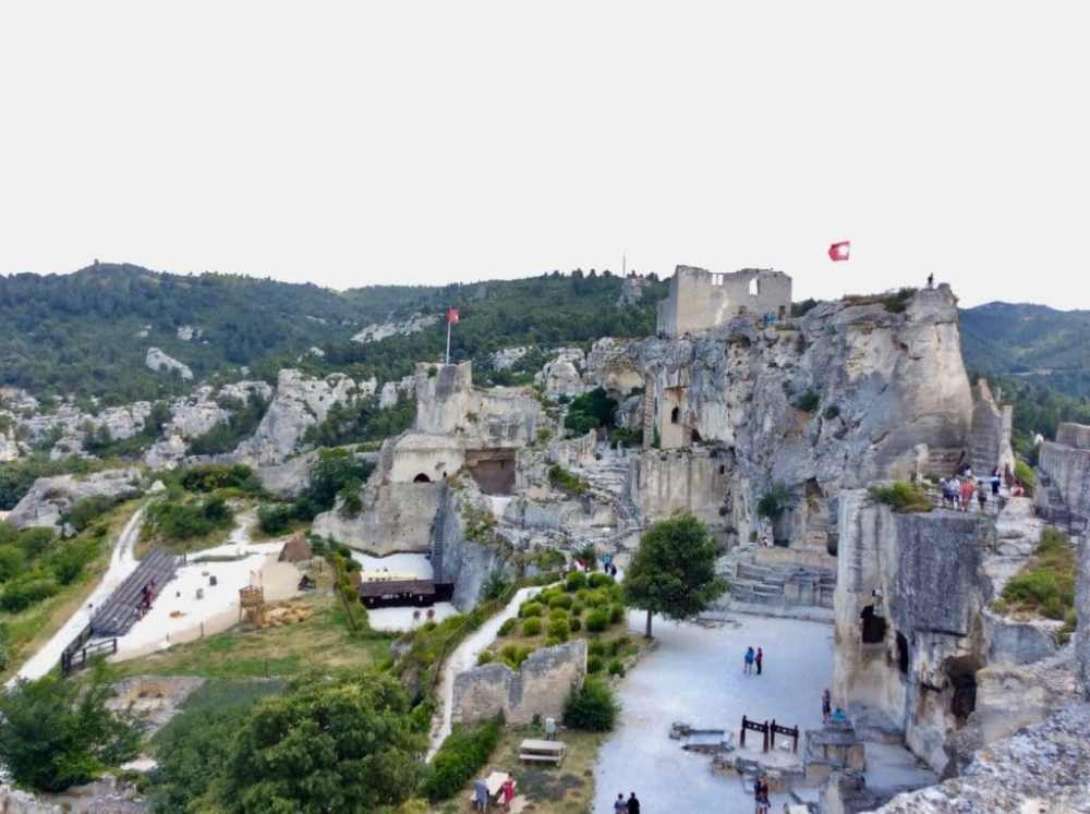 Baux-de-Provence en France