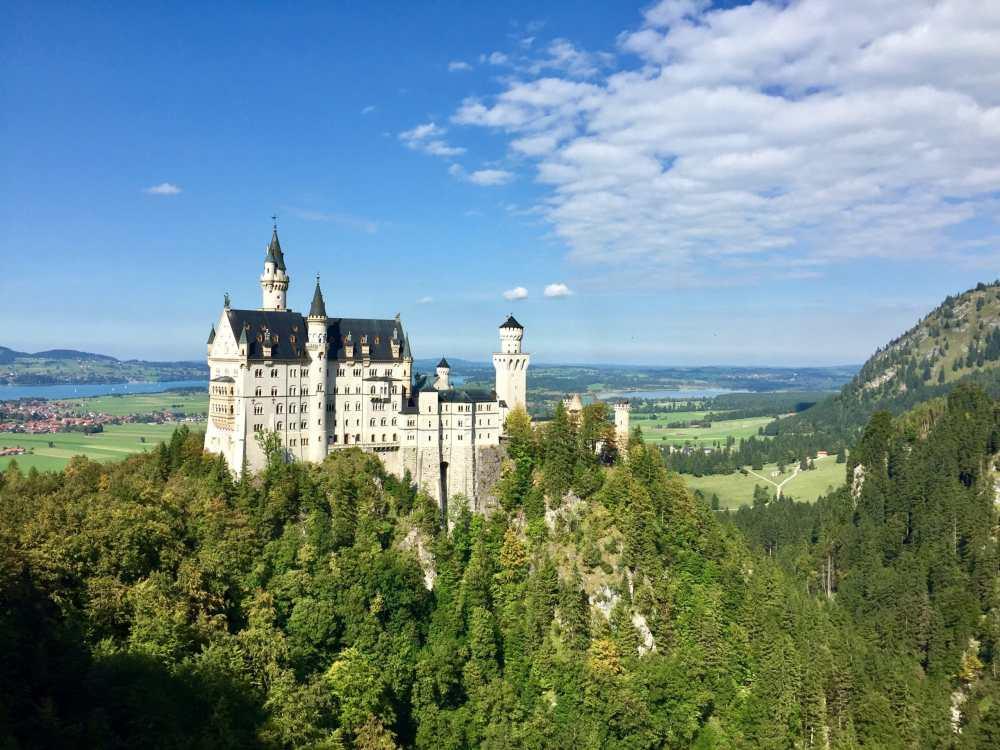 Neushwanstein_château Allemagne