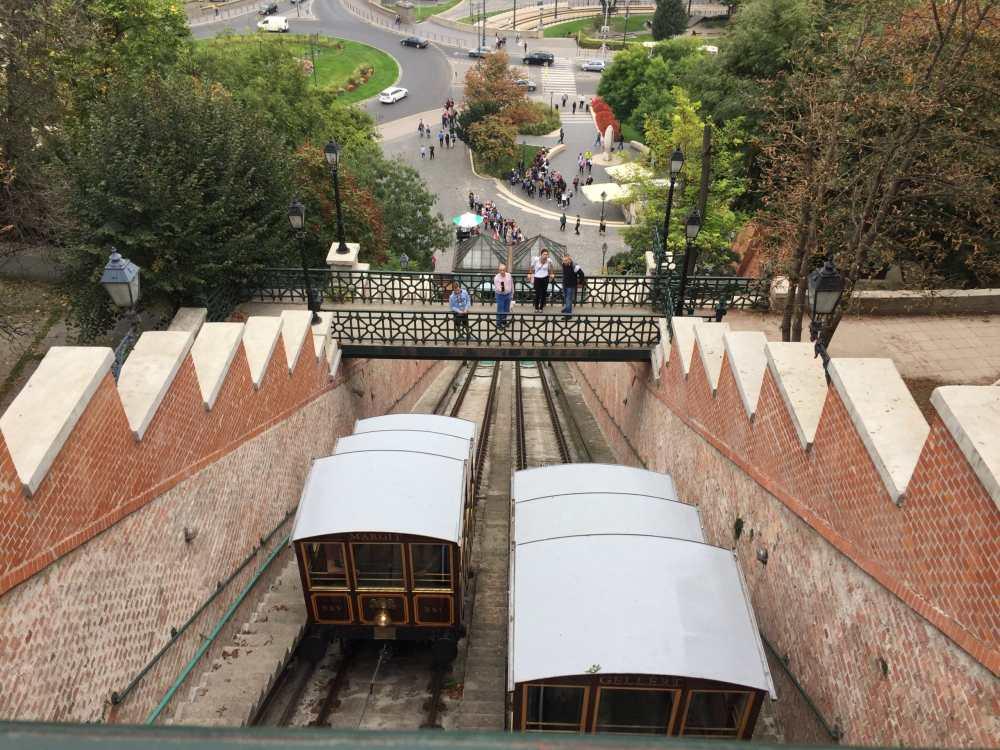 Le funiculaire de Budapest