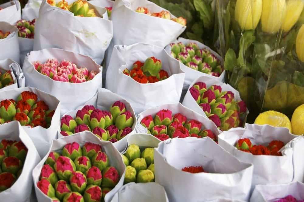 Marché des fleurs de Hong Kong
