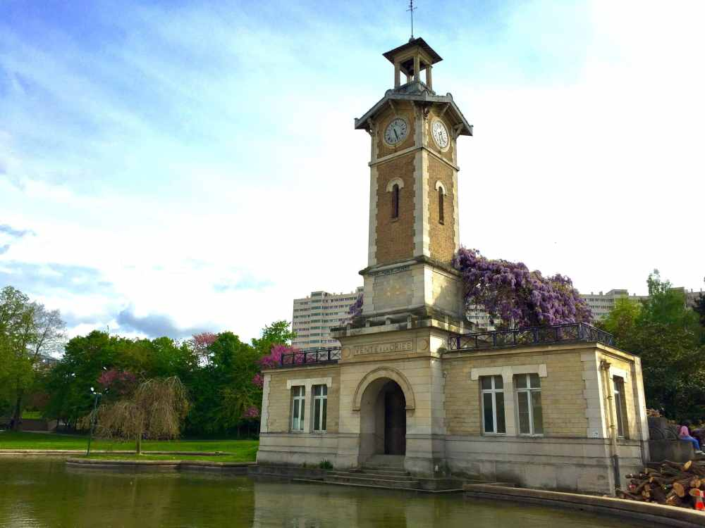 Parc Georges Brassens à Paris